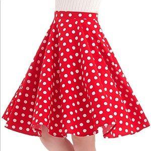 Dresses & Skirts - NWOT Polka Dot Skirt